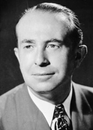 Black and white photo of Herman G. Stark,