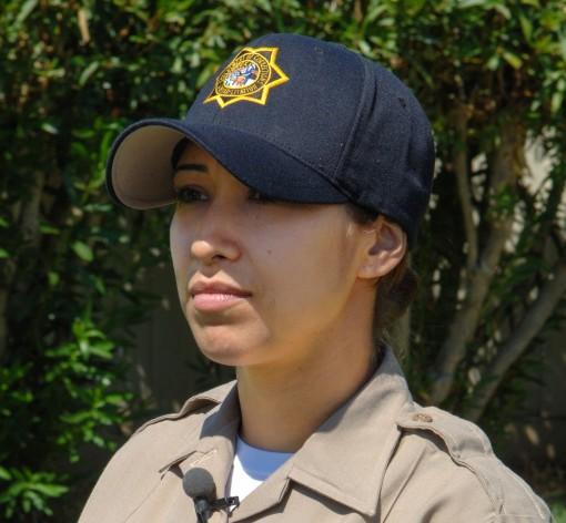 Female correctional officer cadet.
