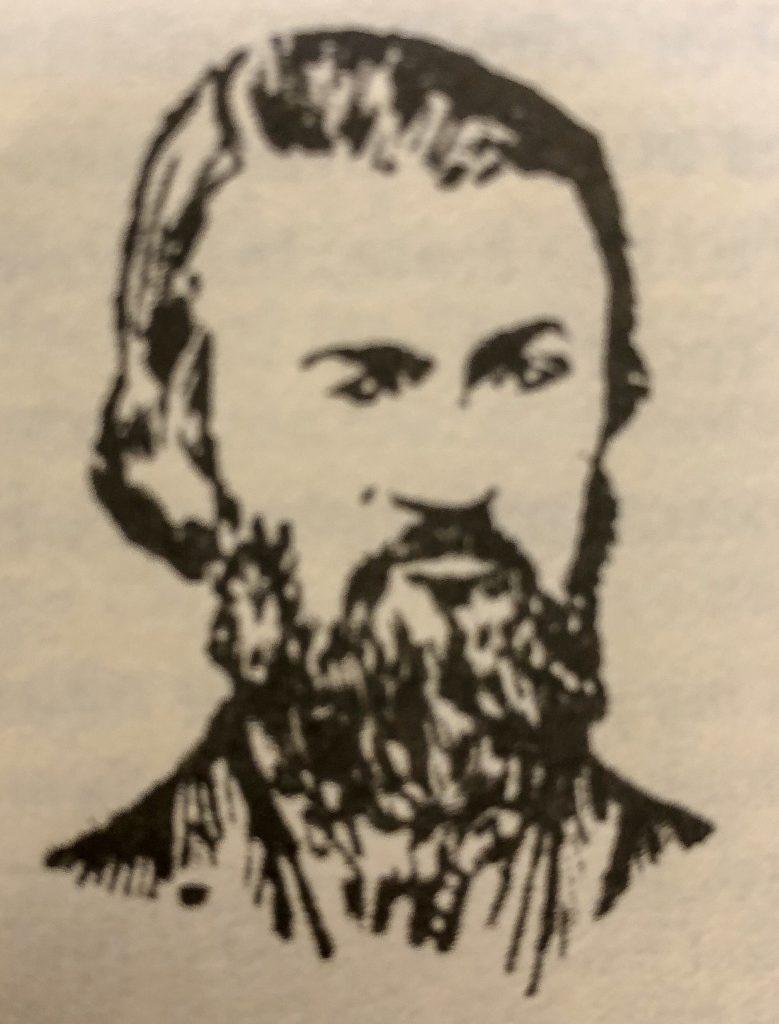 face sketch of Captain Bill Byrnes