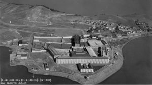 Photo of prison from the air.