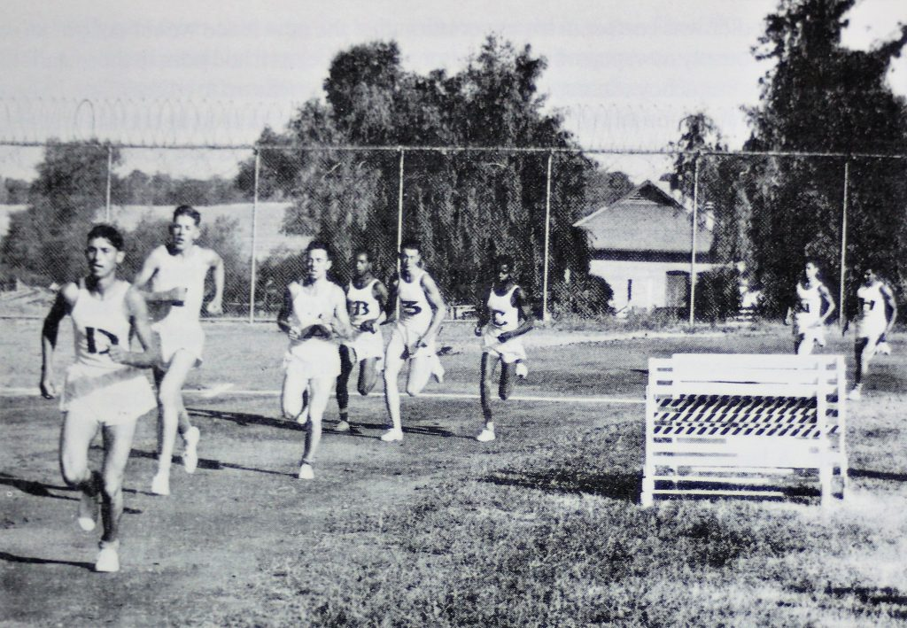 Youth offenders run a track at Preston School of Industry in Ione.