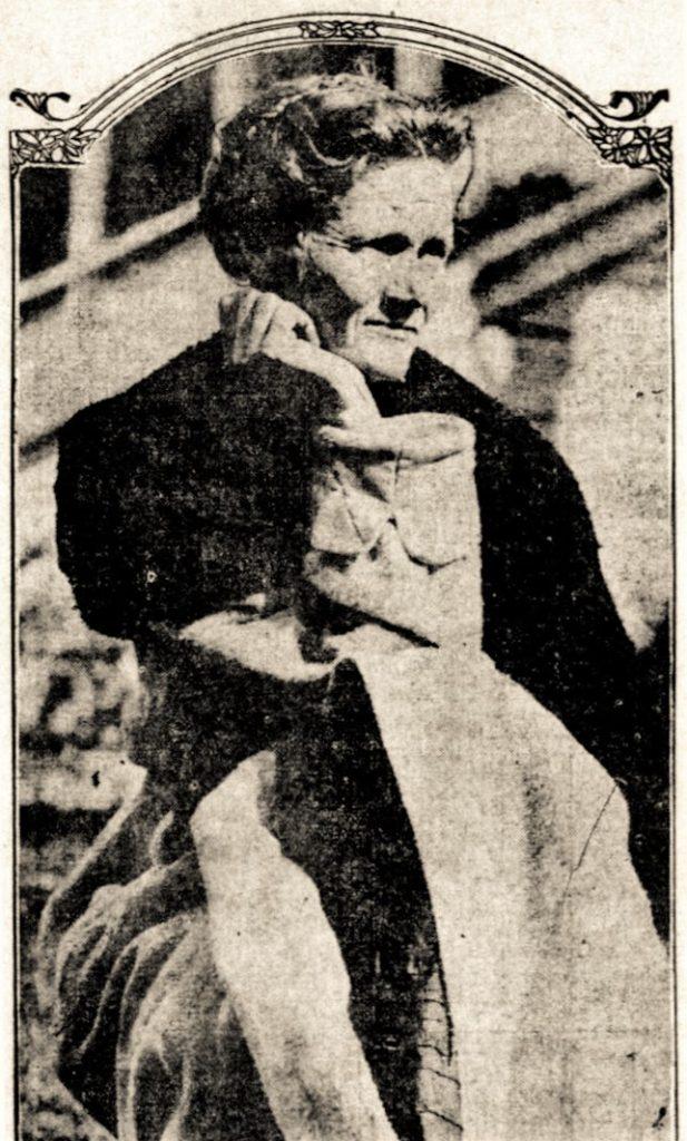 Black and white photograph of Lu Etta Smith