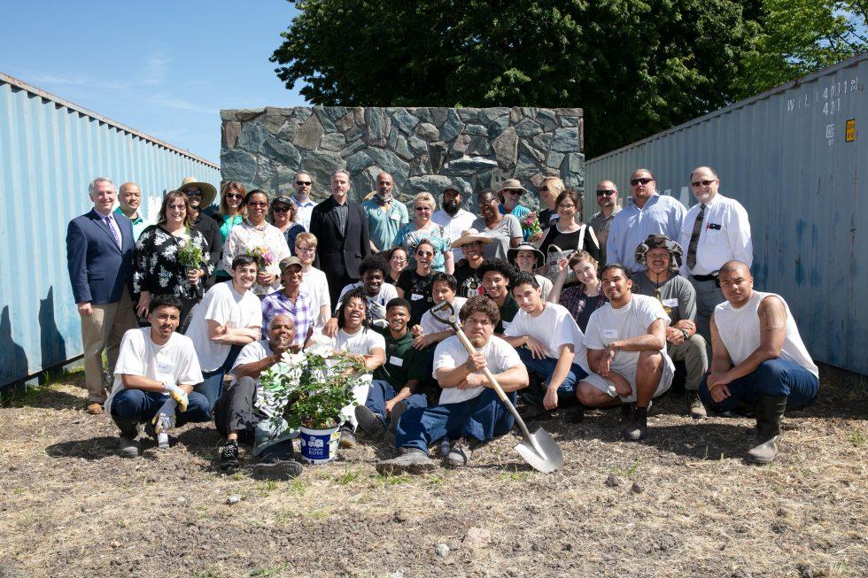 Insight Garden S Installation At Stockton Djj Facility Is