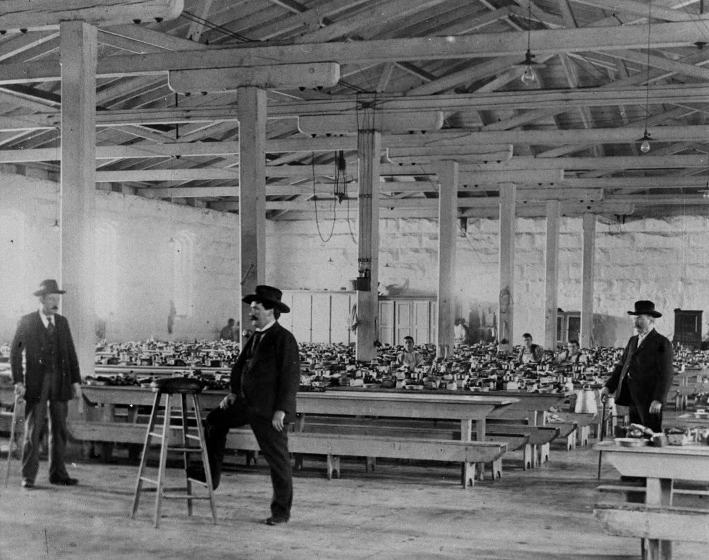 1890s photo of prison guards.
