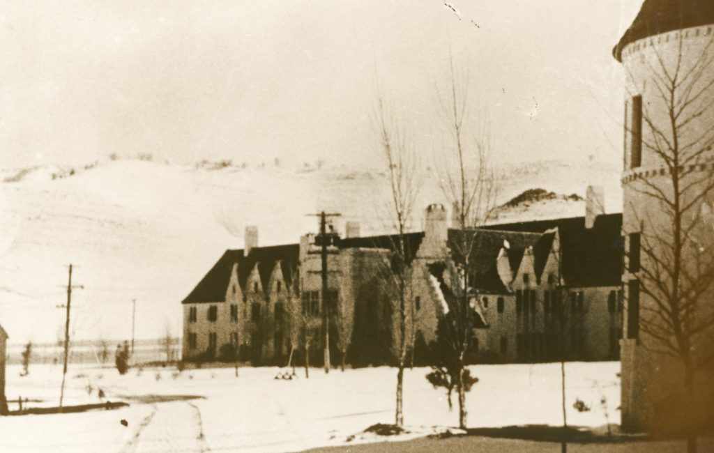 California Institution for Women early prison building.