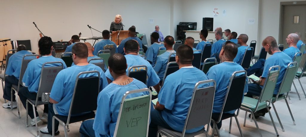 Chapel in Ironwood State Prison.