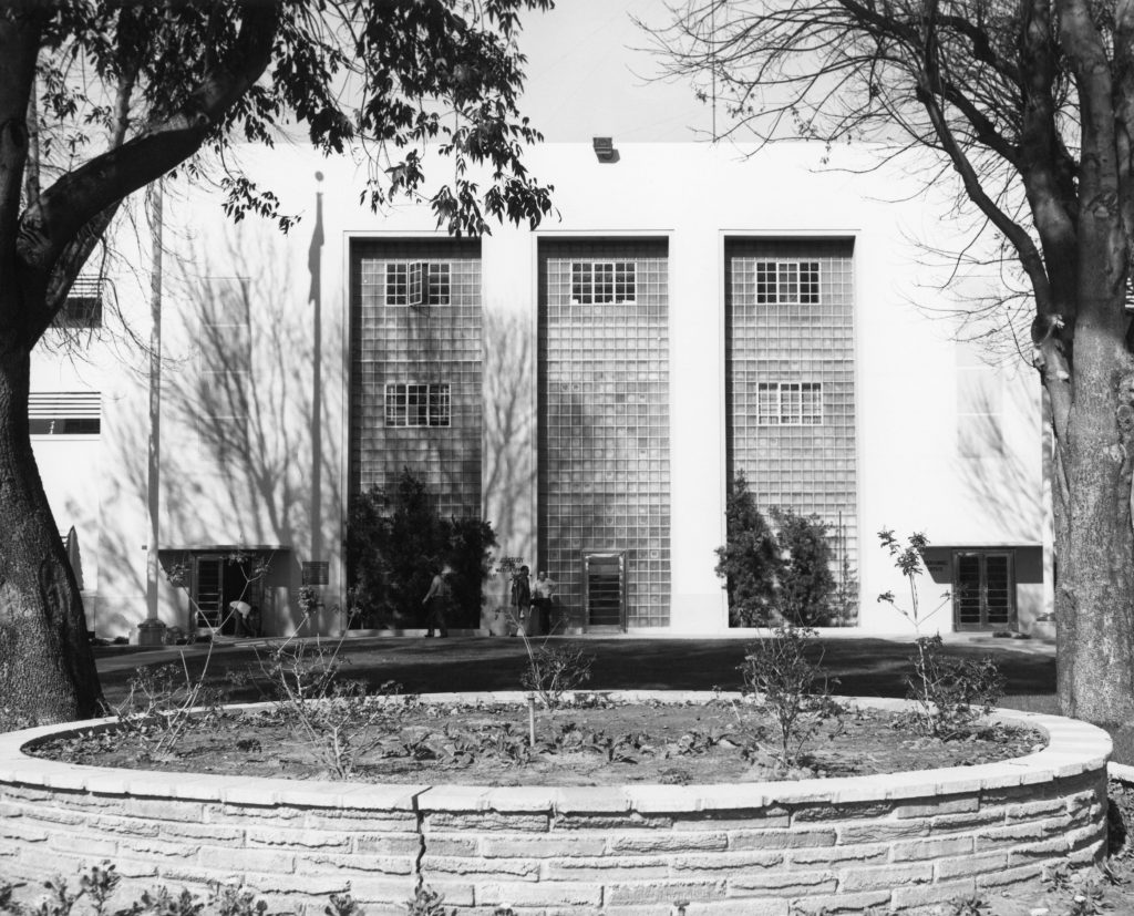 80 years ago, the administration building at California Institution for Men.