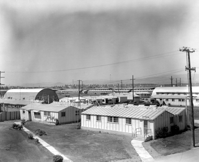 Old barracks and Quonset huts made up the original Correctional Training Facility at Soledad.