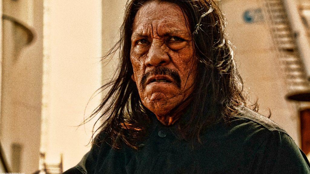 Grainy promotional photo of actor Danny Trejo.