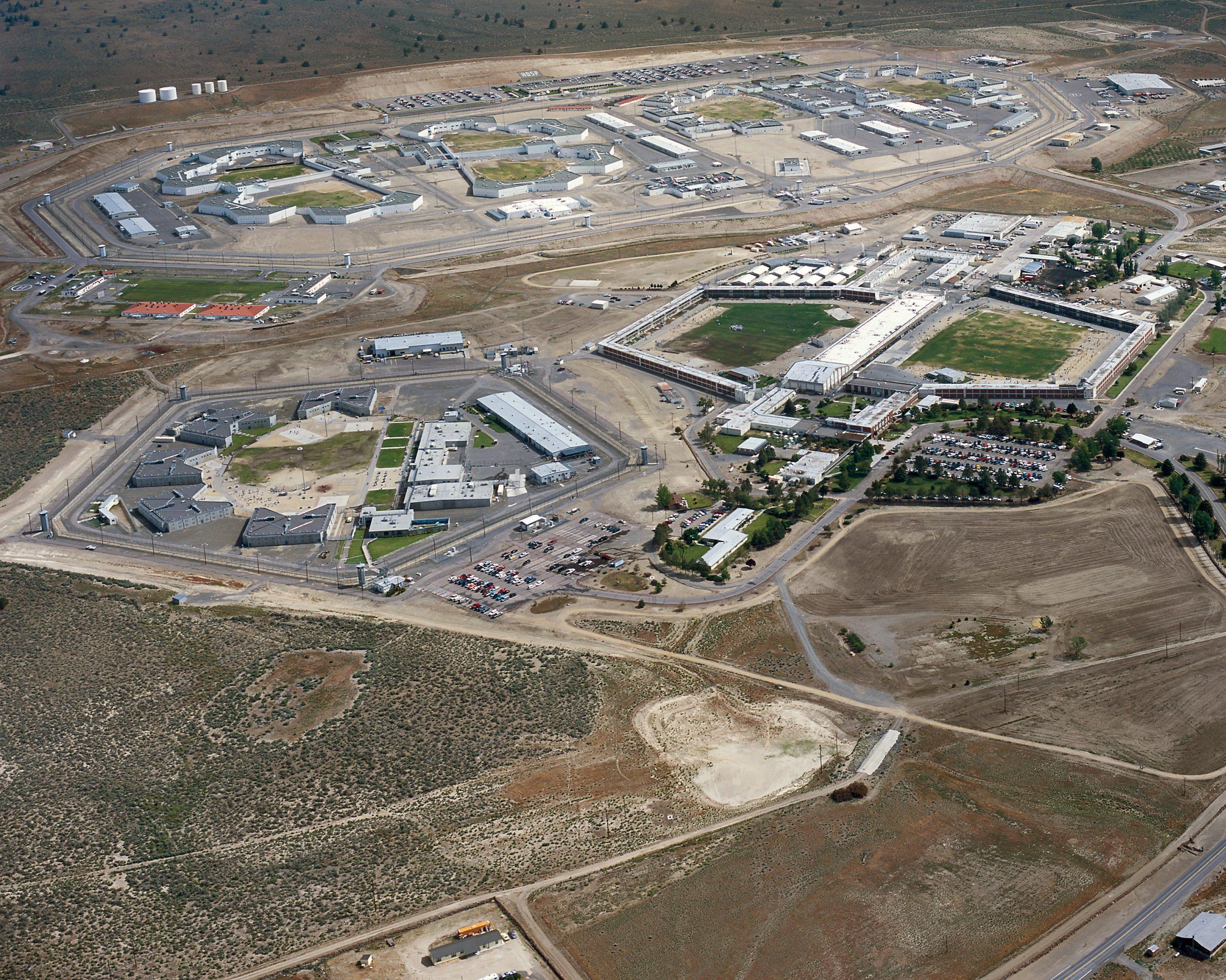 California Correctional Center aerial view.