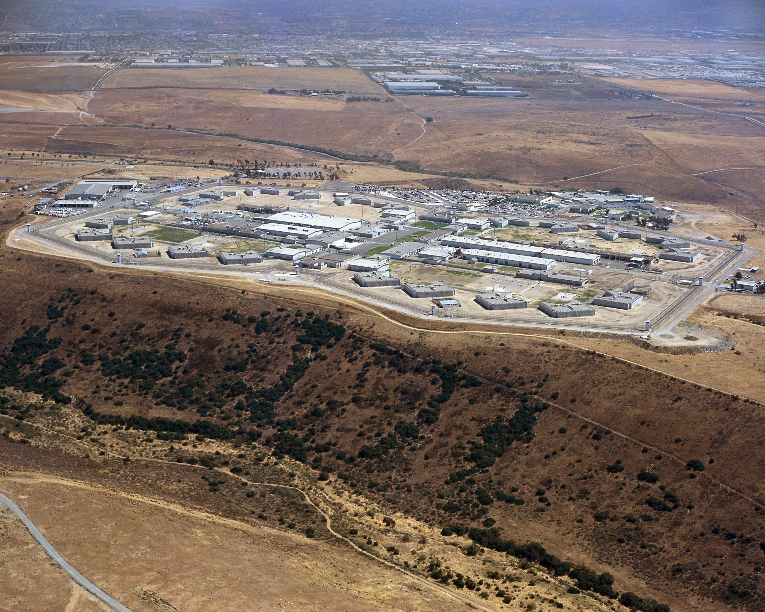 Richard J. Donovan Correctional Facility aerial view.