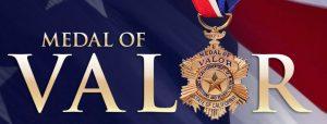 Medal of Valor logo.