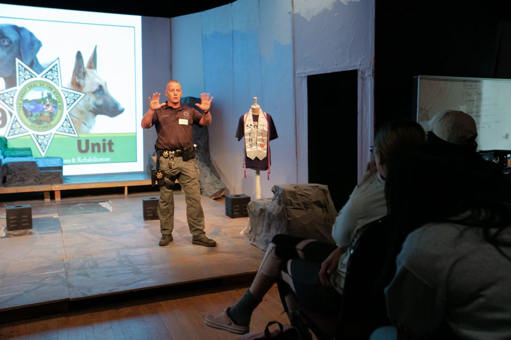"""Officer Kenneth """"Jack"""" Jacquinot discusses his career as a K-9 handler."""