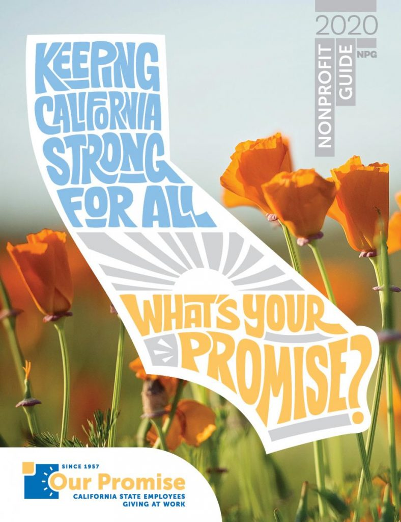 Cover of a publication that says Keeping California Strong for All. What's your promise?