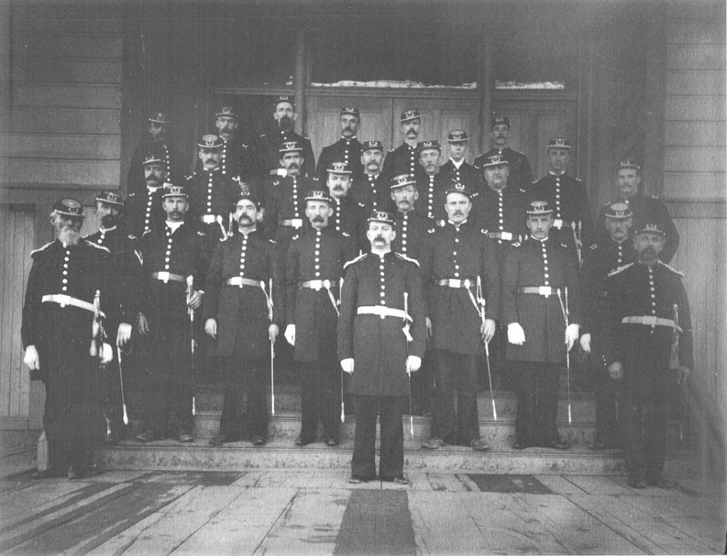 Colfax Knights of Pythias photo from 1900.