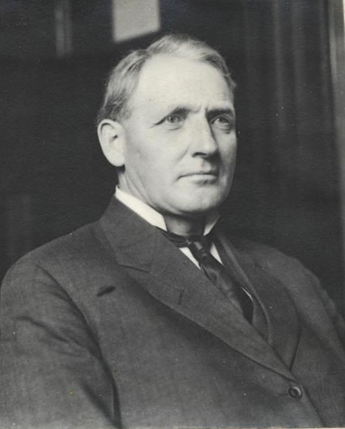 Governor James Gillett portrait 1907