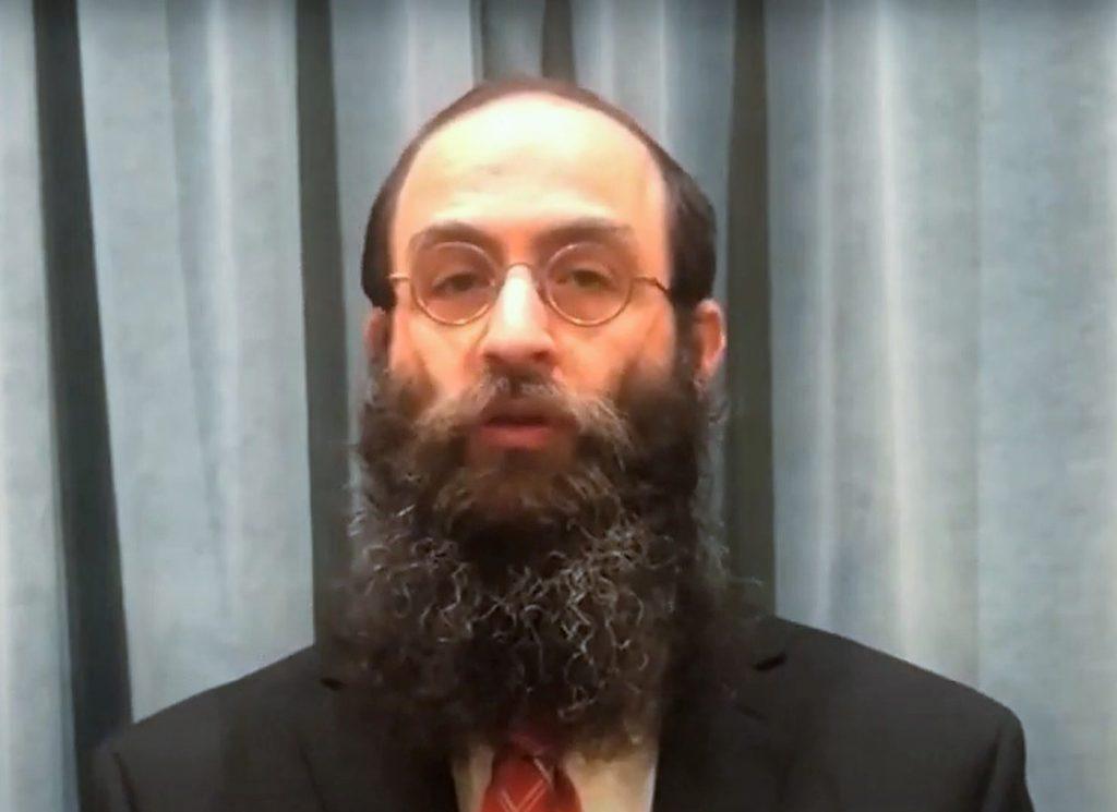 Rabbi Benzion Lew.