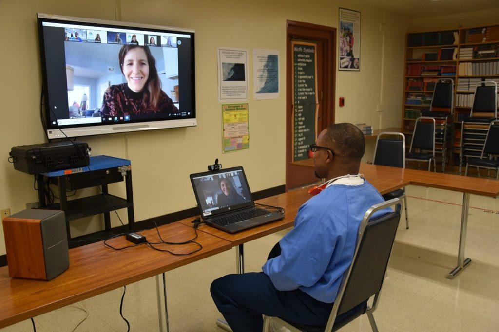 Pelican Bay virtual seminar with an incarcerated person.