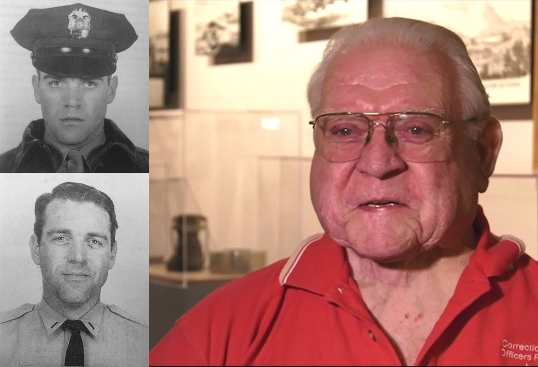 Three photos of Richard Nelson show him in 1959, 1969 and 2019.