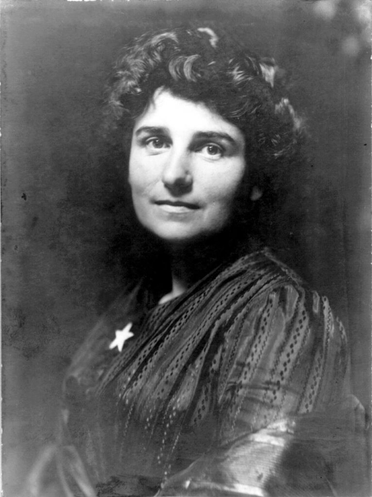 Maud Booth in 1902.