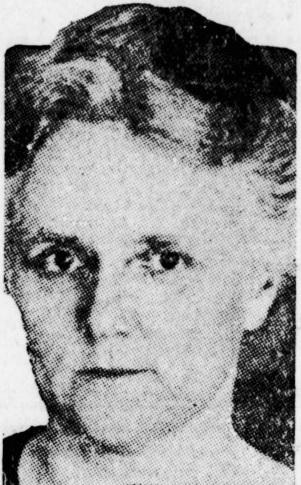 Portrait of Blanch Morse.