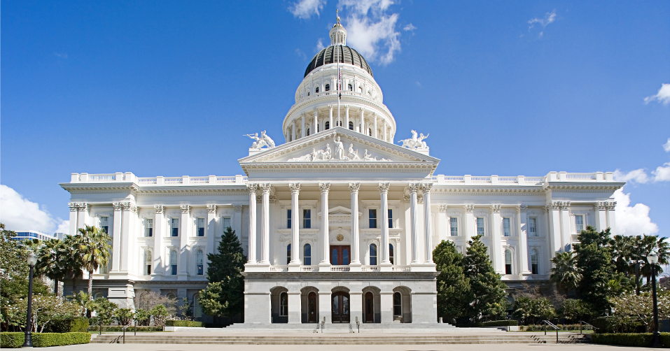 California capitol building.