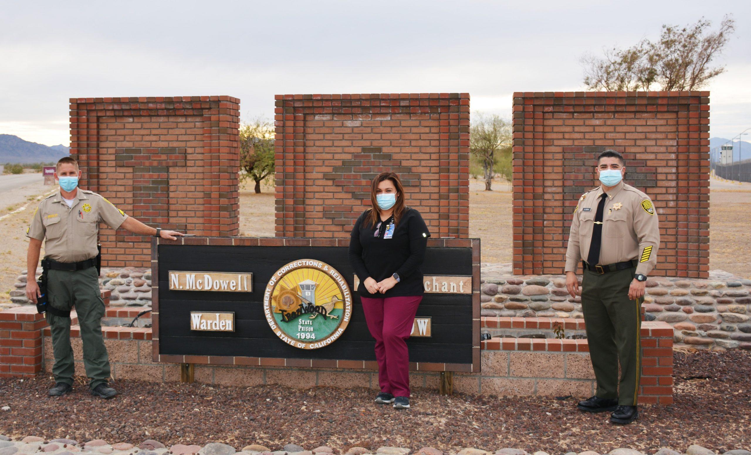 Three Ironwood prison staff.