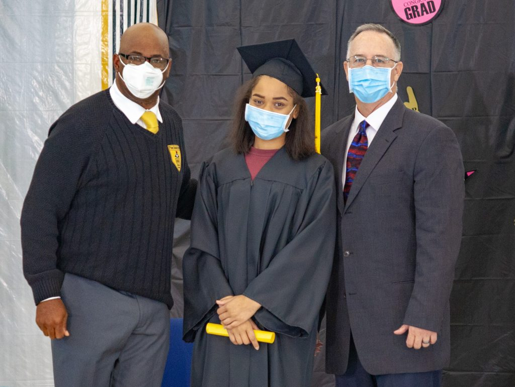 DJJ graduations had a featured keynote speaker, school officials and students.