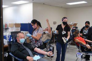 Blood drive at PVSP