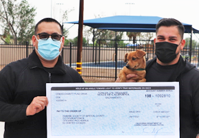 Centinela staff donate money to charities, including the Humane Society.