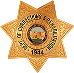 Dept. of Corrections & Rehabilitation badge