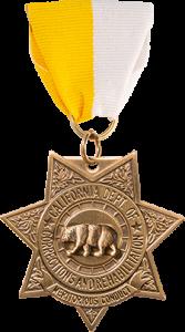 CDCR Bronze Star medal