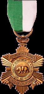 CDCR Distinguished Service medal