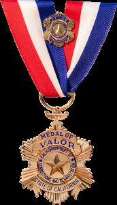 CDCR Medal of Valor