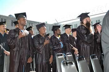 More Than 200 Inmates Graduate from Folsom State Prison's