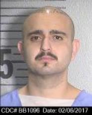 Anthony Jimenez is a Hispanic male, 5 feet 7 inches tall, weighing 188 pounds with brown eyes, shaved head, a mustache and goatee