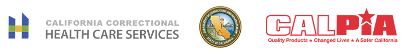 Logo of CDCR CCHCS and CalPIA