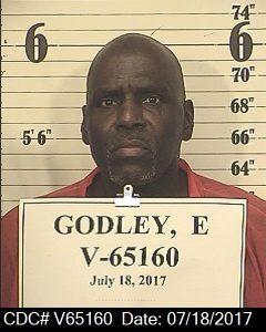 Front mugshot image of Ervin Gene Godley