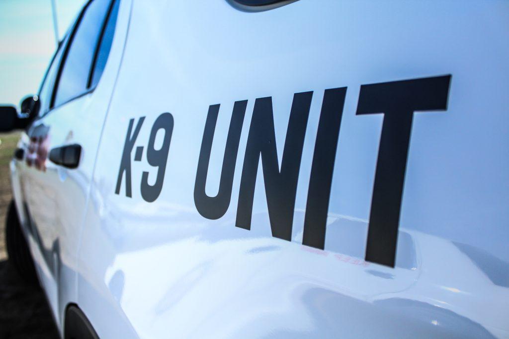 K-9 unit car