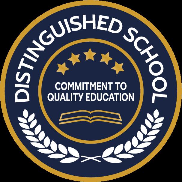 distinguished school emblem
