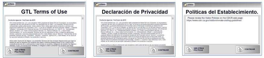 Declaracion de privacidad