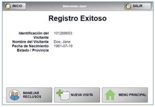 Registro Exitoso