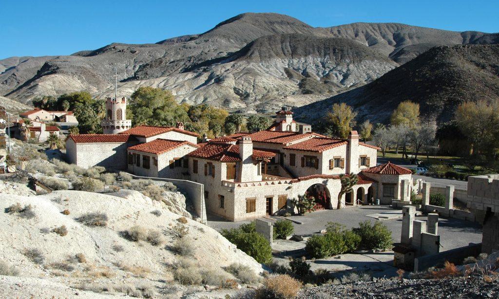 villa in death valley