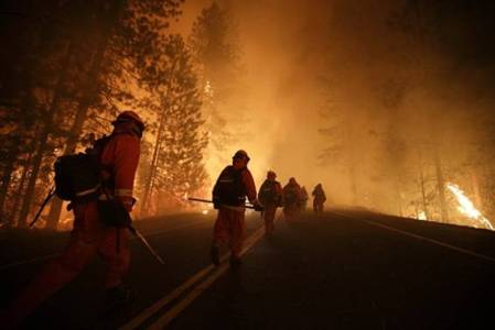Inmates at RIM Fire 2013