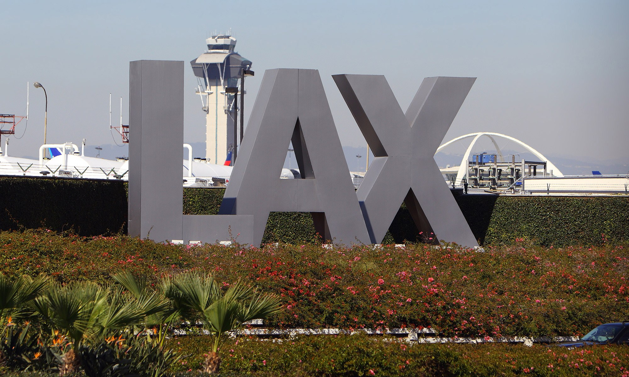 Picture of LAX Airport in Los Angeles