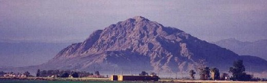 photograph of Mount Signal / El Centinela