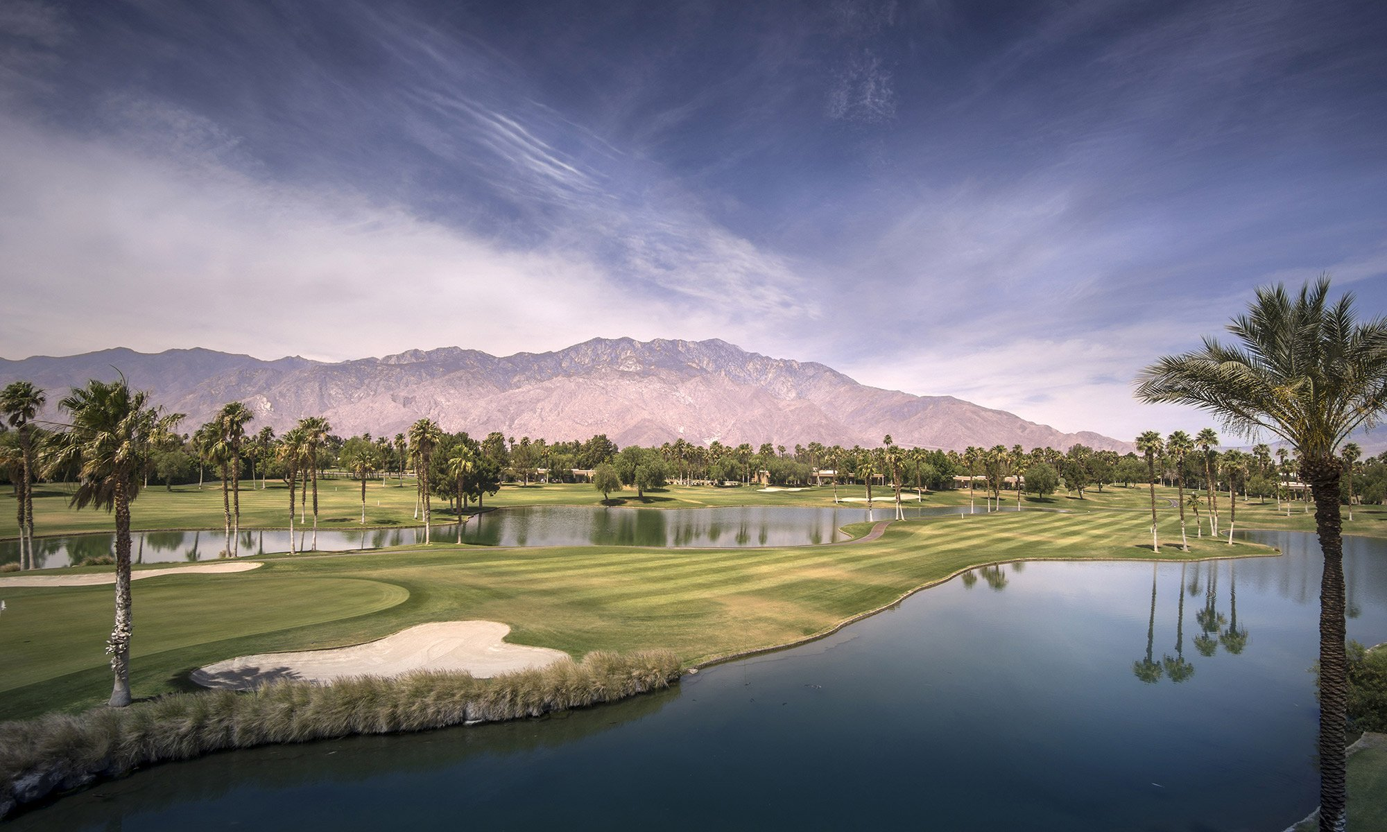 picture of a golf course at Palm Springs