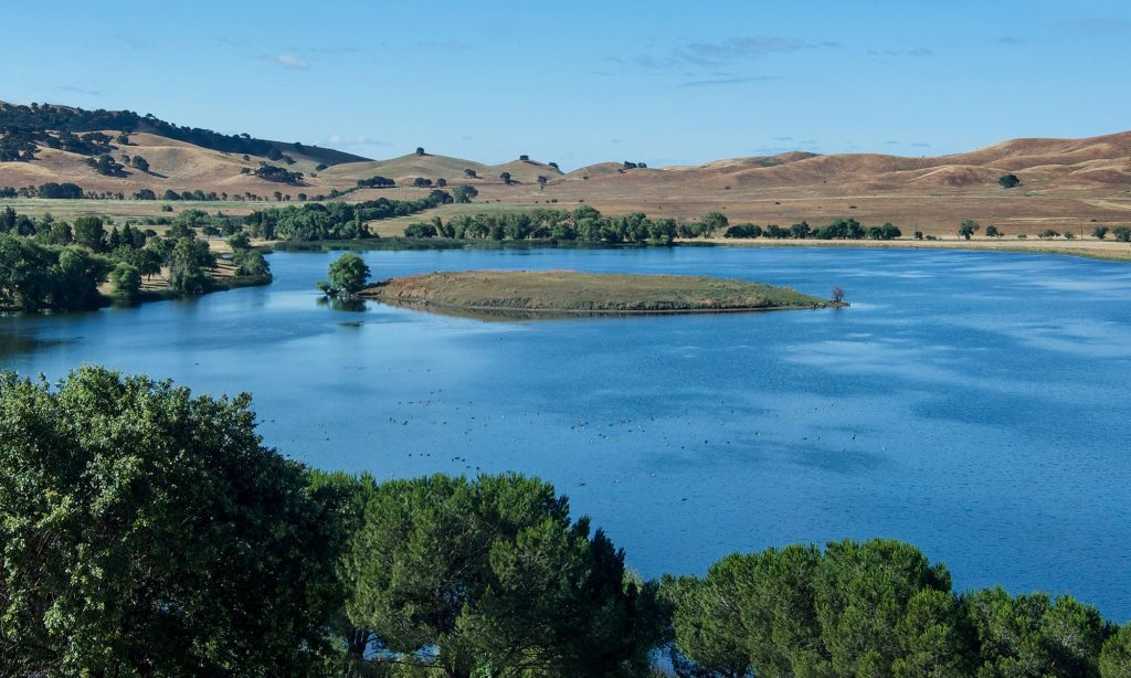 Picture of lake near Vacaville