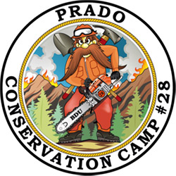 Prado Conservation Camp #28 logo